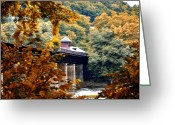 Morn Greeting Cards - West Virginia Morn Greeting Card by Bill Cannon
