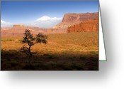 Open Range Greeting Cards - Western Ranch Scene Greeting Card by Bryan Allen
