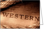 Marking Photo Greeting Cards - Western Stamp Branding Greeting Card by Olivier Le Queinec