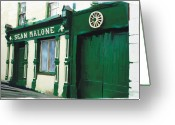 Ireland Greeting Cards - Westport Ireland Greeting Card by Bob Salo
