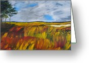 Gregory Allen Page Greeting Cards - Wetland Greeting Card by Gregory Allen Page