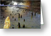 Terry Digital Art Greeting Cards - What HOPE Looks Like Greeting Card by Terry Wallace