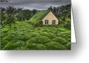 Iceland Greeting Cards - When Heaven Calls Your Name Greeting Card by Evelina Kremsdorf