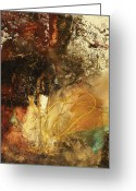 Abstracts Greeting Cards - Where Theres A Will  Greeting Card by Michel  Keck