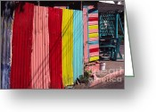 Charlestown Greeting Cards - Whimsical Paint Job Greeting Card by Thomas R Fletcher