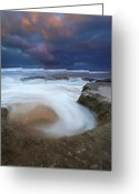 Knight Greeting Cards - Whirlpool Dawn Greeting Card by Mike  Dawson