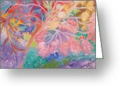 Autistic Greeting Cards - Whisper of Reflections Greeting Card by Catherine Herbert