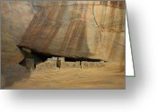 Anasazi Greeting Cards - White House Greeting Card by Jack Atkins