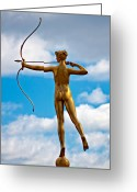 Archer Greeting Cards - Who Needs Cupid 2 Greeting Card by Steve Harrington