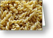 Chefs Greeting Cards - Wholemeal Pasta Greeting Card by Frank Tschakert