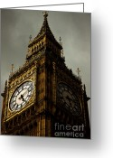 Big Ben Greeting Cards - Wicked Division Greeting Card by Andrew Paranavitana