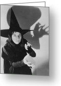 Mgm Greeting Cards - Wicked Witch Of The West Greeting Card by Granger