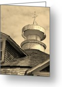 Weathervane Greeting Cards - Wickfield Pavillon  Greeting Card by Brynn Kelley