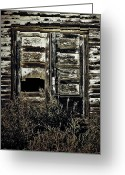 Doors Framed Prints Greeting Cards - Wild Doors Greeting Card by Jerry Cordeiro