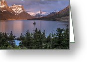 Wild Goose Greeting Cards - Wild Goose Island 2 Greeting Card by Greg Nyquist