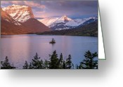 Wild Goose Greeting Cards - Wild Goose Island 3 Greeting Card by Greg Nyquist