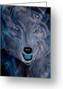 Maria Urso Greeting Cards - Wild Greeting Card by Maria Urso - Artist and Photographer