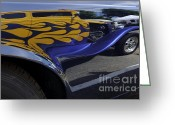 Hotrod Photo Greeting Cards - Wild Thing Greeting Card by Luke Moore