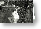 Sandstone Bluffs Greeting Cards - Wild Wild West Greeting Card by Dani Stites