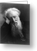 Turn Of The Century Greeting Cards - William Booth (1829-1912) Greeting Card by Granger