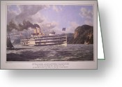 Syracuse Greeting Cards - William G Muller print photo Greeting Card by Jake Hartz