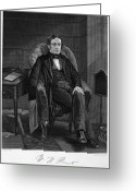 Autograph Greeting Cards - William Hickling Prescott Greeting Card by Granger