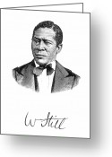 Autograph Greeting Cards - William Still (1821-1902) Greeting Card by Granger