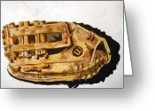 Infield Greeting Cards - Wilson Staff Pro Greeting Card by Jame Hayes