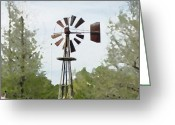 Igdaily Greeting Cards - Windmill Ii, You Can Sell Your Greeting Card by James Granberry