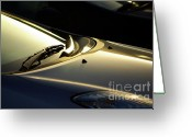 Backlight Greeting Cards - Windshield Wiper Greeting Card by Carlos Caetano