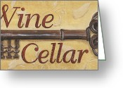 Wine Cellar Greeting Cards - Wine Cellar Greeting Card by Debbie DeWitt