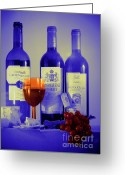 D700 Greeting Cards - Winsome Wine Greeting Card by Donald Davis