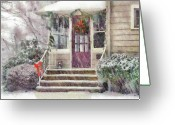 You Greeting Cards - Winter - Christmas - Silent Day  Greeting Card by Mike Savad