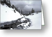 Minard Greeting Cards - Winter Day  Greeting Card by Vern Minard