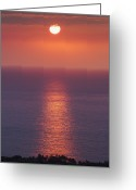 Winter Solstice Greeting Cards - Winter Solstice On Kona Coast Hawaii Greeting Card by Alvis Upitis