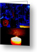 Winter Solstice Greeting Cards - Winter Solstice Greeting Card by Randall Weidner