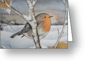 Dawn Jones Greeting Cards - Winter Wonder Greeting Card by Dawn Jones