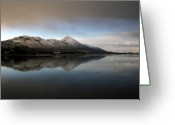 Calm Framed Prints Prints Greeting Cards - Winter Wonderland Greeting Card by Paul  Mealey