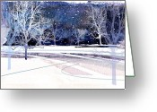 Winter Trees Greeting Cards - Winter Wonderland Greeting Card by Paul Sachtleben