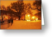 Eutemey Greeting Cards - Winters Solace Greeting Card by Kendall Eutemey