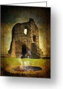 Mistic Greeting Cards - Wishing Well Greeting Card by Svetlana Sewell
