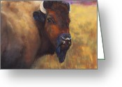 Western Pastels Greeting Cards - With Age Comes Beauty Greeting Card by Frances Marino