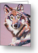 Stylized Art Greeting Cards - With Intent Greeting Card by Bob Coonts