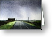  Landscape Greeting Cards - Withins Greeting Card by Paul Dene Marlor