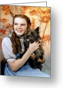 Checkered Greeting Cards - Wizard Of Oz, 1939 Greeting Card by Granger