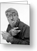 Wolfman Greeting Cards - Wolfman, 1945 Greeting Card by Granger