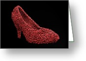 High Heel Greeting Cards - Womans Power Tool Greeting Card by Steven  Michael
