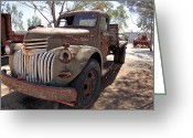 Chev Pickup Greeting Cards - Work horse Greeting Card by James Mcinnes