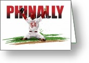 Philadelphia Phillies Greeting Cards - World Series Champions Phinally Greeting Card by David E Wilkinson