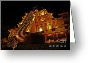 Showcase Greeting Cards - World Showcase - Mexico Pavillion Greeting Card by AK Photography